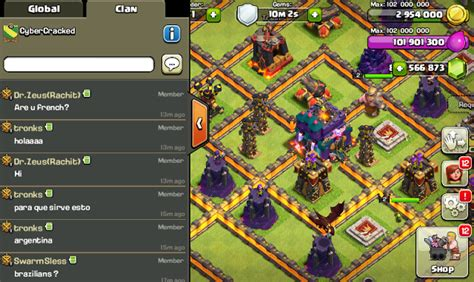 download game mod clash of clans versi 7 200 19 clash of clans mod hack v7 200 19 0 4 apk flamewall