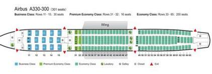 air canada a333 seat map air china airlines airbus a330 300 aircraft seating chart