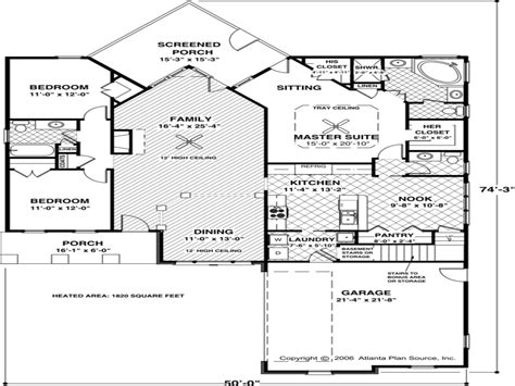 House Floor Plans 1000 Sq Ft Home Mansion