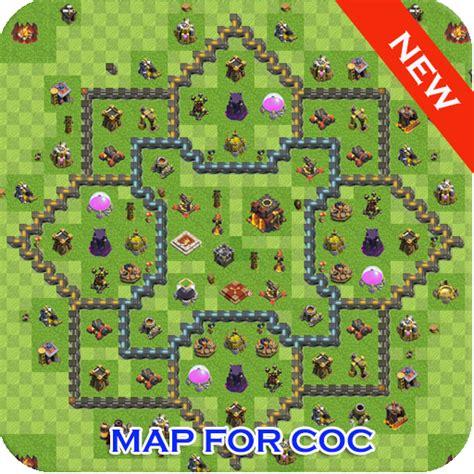 clash base ultimate layout apk maps for clash of clans bases apk mod v1 2 apkformod
