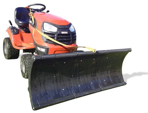 riding lawn mower with snow plow bloggerluv com