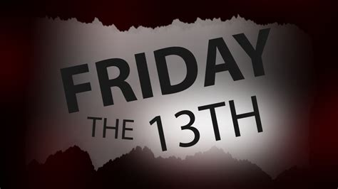 things you didn t know about friday the 13th