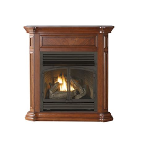 Cedar Ridge Fireplace shop cedar ridge hearth 43 75 in dual burner vent free apple spice liquid propane and