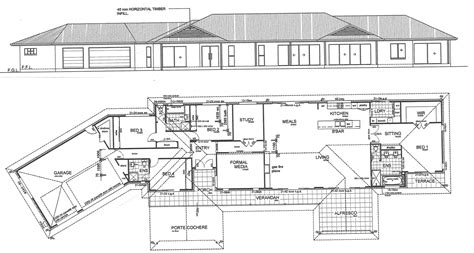 home building blueprints samford valley house construction plans