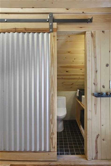 corrugated metal bathroom walls corrugated metal wall design bathroom loft pinterest