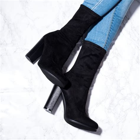 black ankle boots shoes from spylovebuy