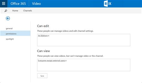 permissions in office 365 review microsoft office 365 video panopto video platform