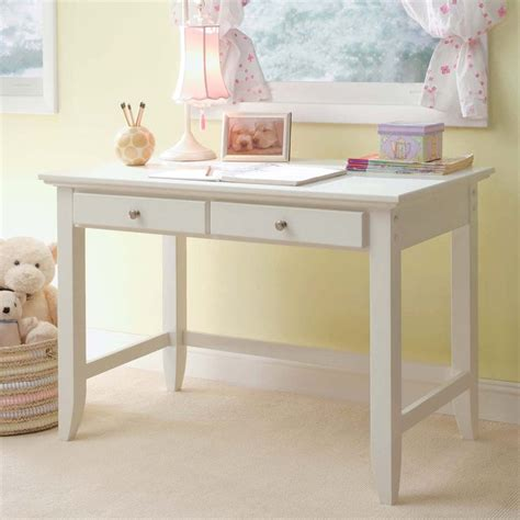 Shop Home Styles Naples White Student Desk At Lowes Com White Study Desk