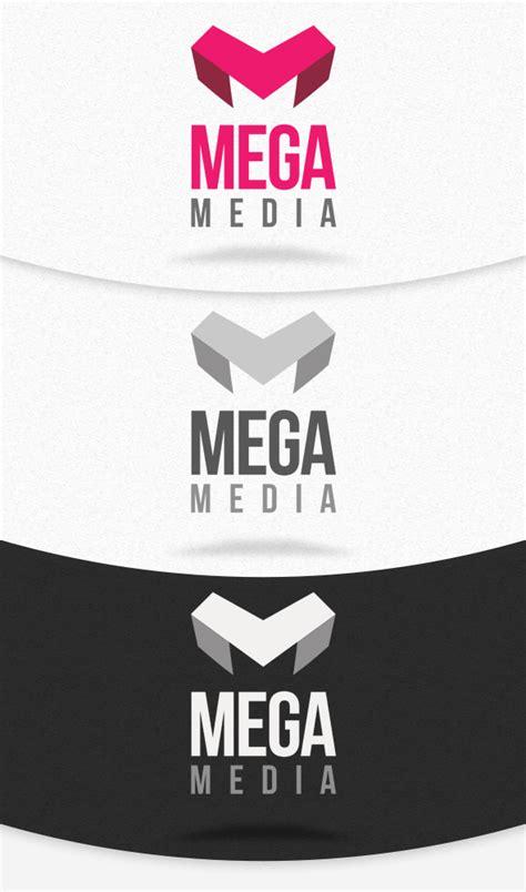 Mega Media Logo Template Psd By Squizmo On Deviantart Logo Template Psd