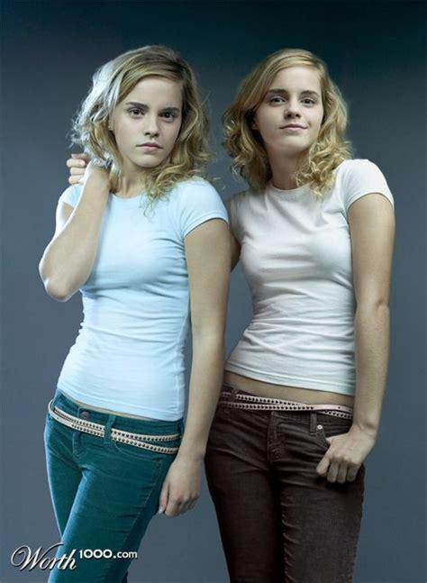 emma watson twin emma watson cloned by bugbeeo on deviantart