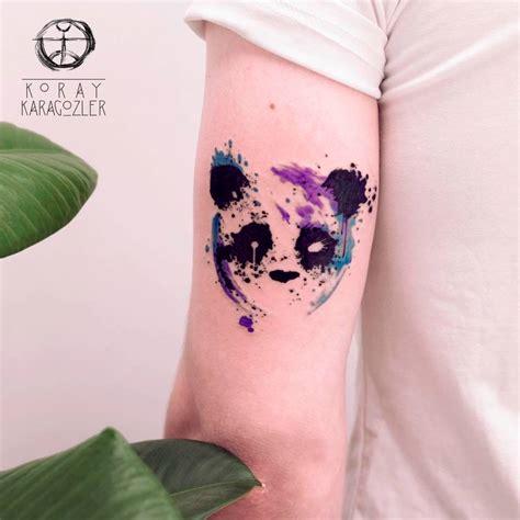 panda tattoo abstract panda by koraykaragozler on deviantart
