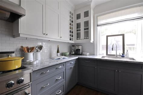 kitchen cabinets gray awesome white and grey kitchen ideas my home design journey