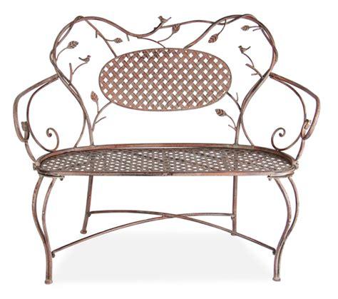3ft garden bench alium harrogate 1 07m 3ft 6in antique effect steel bench 163 69 99