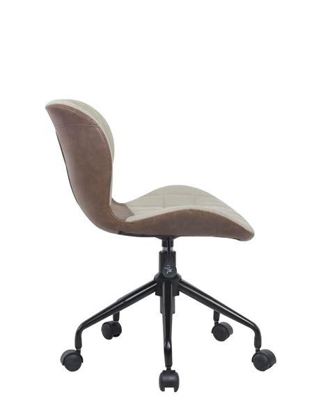 chaise de bureau r馮lable en hauteur cara chaise de bureau design pivotante kayelles com