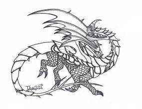 how to your dragons drawings razorwhip by thaigra on deviantart
