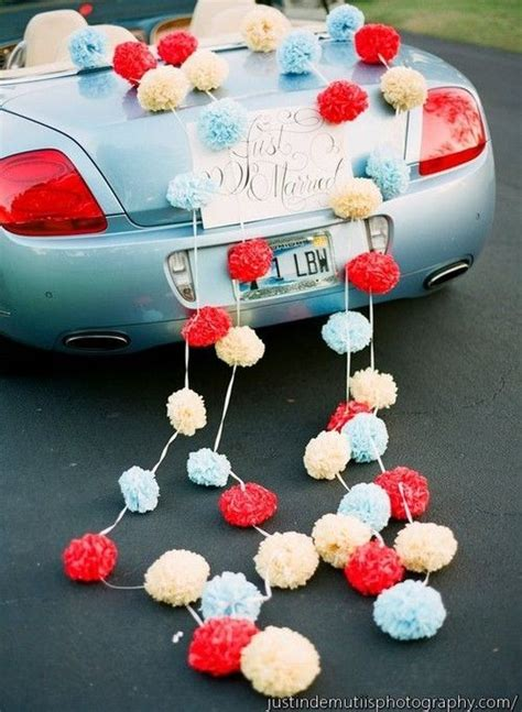 Wedding Car Deco by 20 Best Ideas About Wedding Car Decorations On