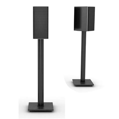 atlantic pair of 30 inch rotating bookshelf speaker stands
