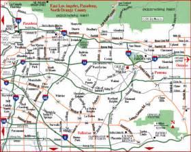 map of eastern california simpdorletalk map of los angeles area