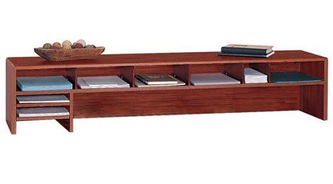 Low Profile Desk Hutch by Low Desk Hutch Whereibuyit