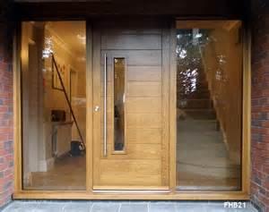Front Door And Frame Contemporary Oak Door And Frame Glazed Sidelights Sch 246 Ne Scheune Oak Doors