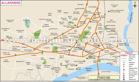 map of allahabad city allahabad city map browse info on allahabad city map