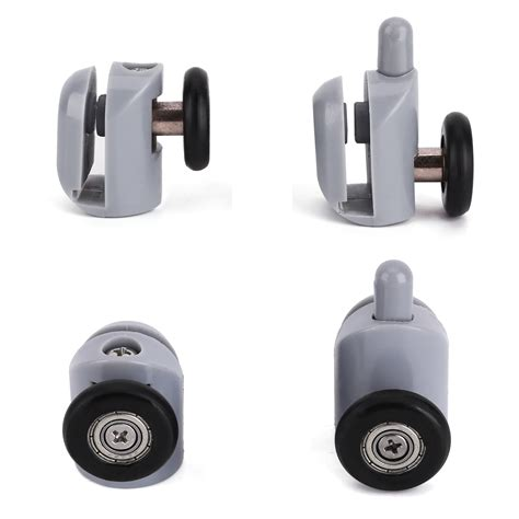 Shower Door Roller Parts 8pcs Shower Door Wheels Rollers Runners 25mm Replacement Parts Bathroom Ebay