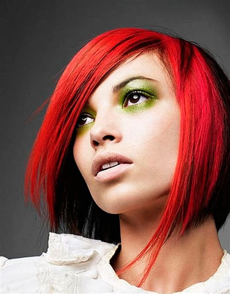 trendy cuts for vibrant red hair latest short hairstyles trends 2012 2013 short