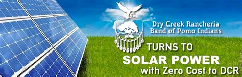 going solar cost going solar for zero cost creek rancheria band of pomo indians