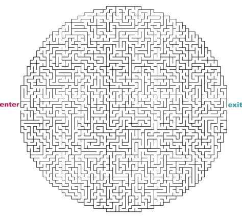 printable hardest maze ever 5 best images of hard printable mazes for adults