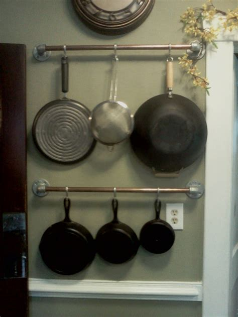Pipe Pot Rack by A Pot Rack Made From Copper Pipe For Becky