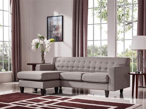 divani casa tawny modern fabric sofa ottoman set sofas