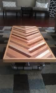 herringbone coffee table herringbone coffee table by builtconcrete contemporary