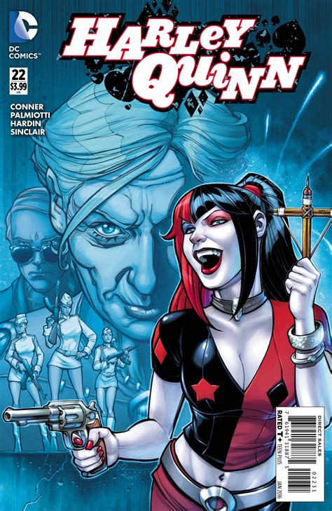 libro harley quinns cover gallery exclusive preview harley quinn 22 freaksugar