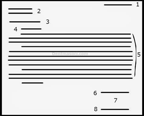 Struktur Surat Lamaran Kerja by 15 Contoh Surat Lamaran Kerja Dilengkapi Tips Melamar Kerja
