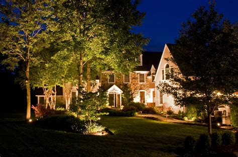 landscape lighting installation exterior lighting design landscape lighting installation