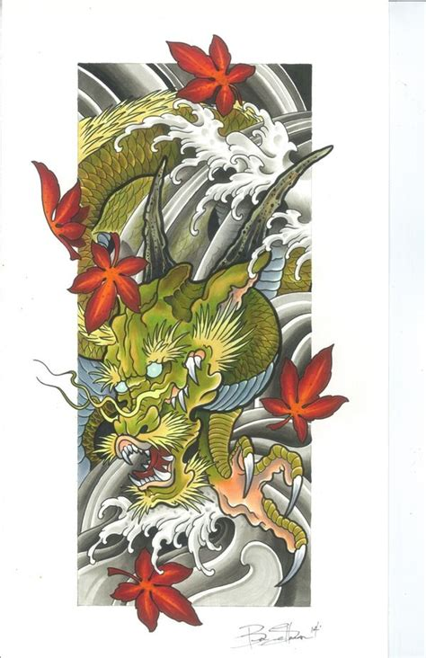dragon tattoo series hannya mask fall series dragons and japanese