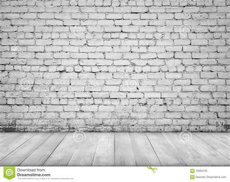 interior  white brick wall  wooden floor