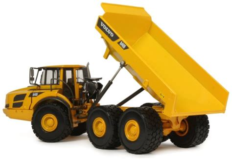 miniature construction world volvo af articulated dumptruck