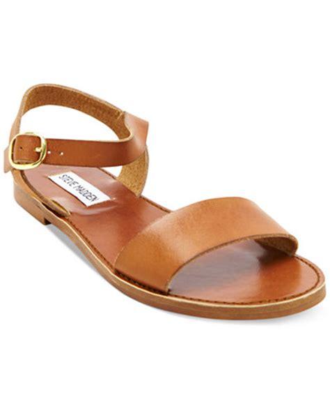 sandals store steve madden donddi flat sandals sandals shoes macy s