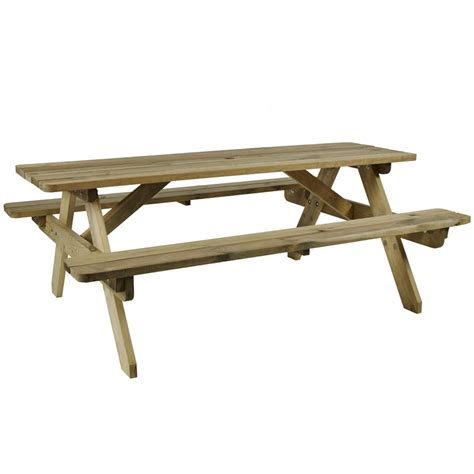 hereford picnic table za 3119ct 8 seater zap trading