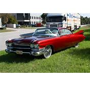 1959 Cadillac Series 62 Coupe Deville Candy Red Custom Built Show Car