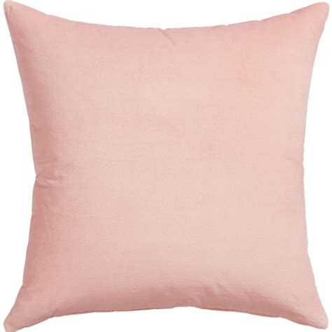 23 quot leisure blush pillow cb2