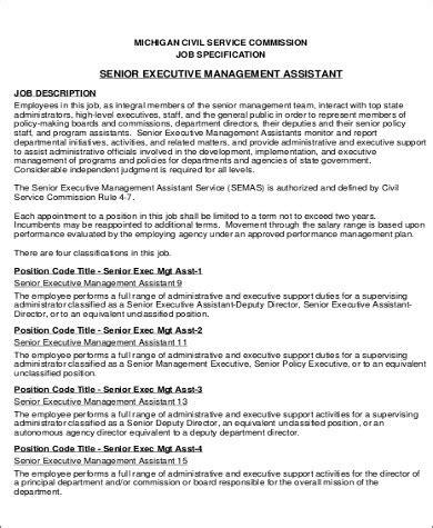 Senior Executive Assistant Resume Sle Senior Executive Assistant Resume 6 Exles In