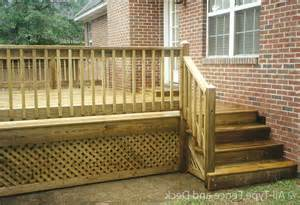 Wood deck railing designs diy archives house design and planning