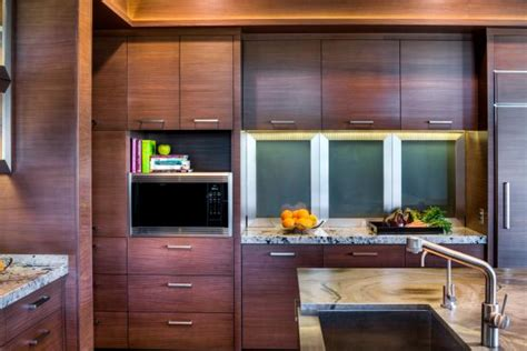 exotic wood kitchen cabinets photo page hgtv