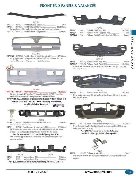pontiac parts catalog pontiac firebird catalog html autos weblog