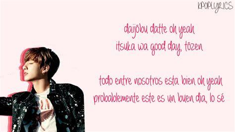 bts good day lyrics bts good day rom subespa 241 ol color coded youtube