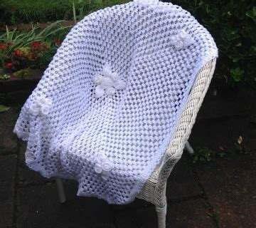 knitted flower blanket shop ali ebden knits
