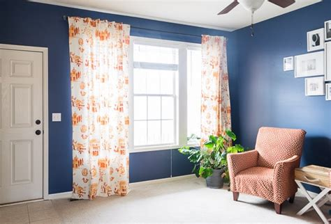 how to hang curtains on high window how high to hang curtains home design ideas and pictures
