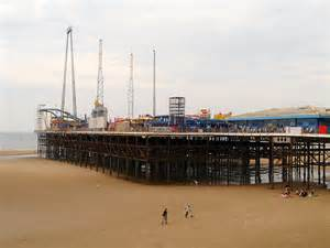 pier south blackpool south pier 169 david dixon geograph britain and